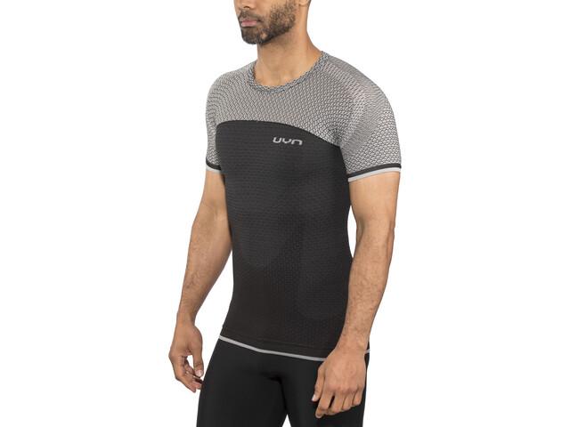 UYN Running Alpha OW Camisa Manga Corta Hombre, charcoal/sleet grey